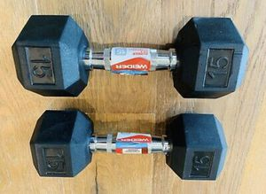 2 15lbs dumbbells for Sale in Orlando, FL
