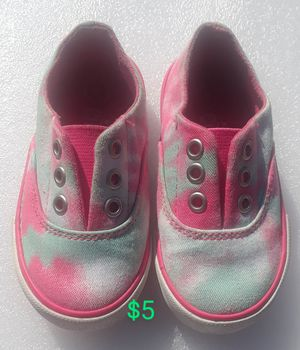 Girl's CIRCO• Tye dye•slip on shoes (Size 6) for Sale in Milpitas, CA
