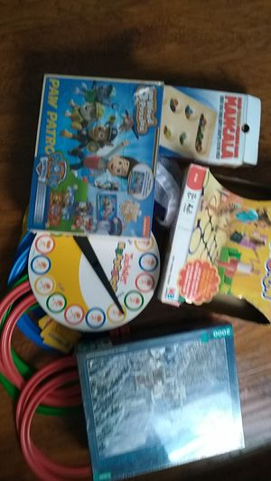 Puzzles NEVER OPEN 👈and games USED 👈$ 3 each for Sale in Wildomar, CA