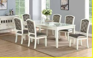 8 piece dining set/ server included ! for Sale in Ontario, CA