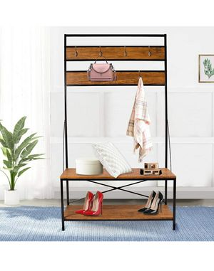 LASUAVY Ladder Shelf Bookcase Multi-Functional Modern Wood Storage Display Open Bookshelf ( for Sale in Winchester, CA
