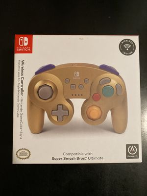 Nintendo Switch GameCube wireless controller- Gold for Sale in East Rutherford, NJ
