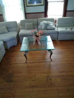 Glass coffee table for Sale in East Brunswick, NJ