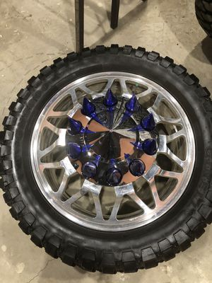 24s dually wheels f350 for Sale in Montclair, CA
