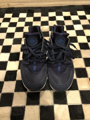 "Nike Air Huarache ""Obsidian/Navy"" Size 10.5. Worn 1x. No box for Sale in Massapequa, NY"