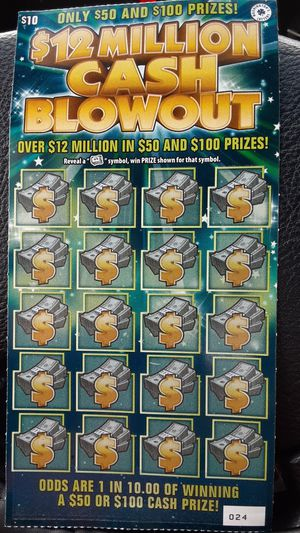 [[☆▪︎WA Lotto Scratch Tickets▪︎☆]]《UNSCRATCHED》《HALF PRICE》 for Sale in Tacoma, WA