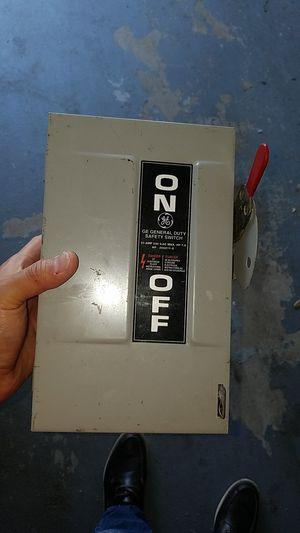 Electrical box/caja electrica para rv o otro uso/for rv or other use for Sale in Atascocita, TX