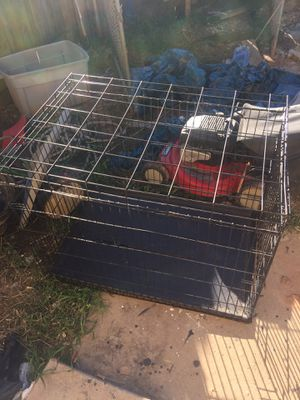 Large dog crate for Sale in Fayetteville, AR