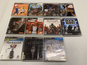 PlayStation 3 games PS3 for Sale in Bakersfield, CA