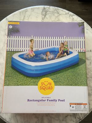 Rectangular Family Pool 10Ft. Long by Sun Squad for Sale in Fremont, CA
