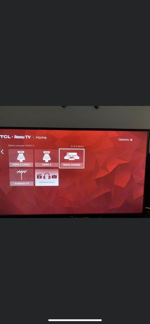 """Tcl roku tv 43"""" for Sale in NO FORT MYERS, FL"""