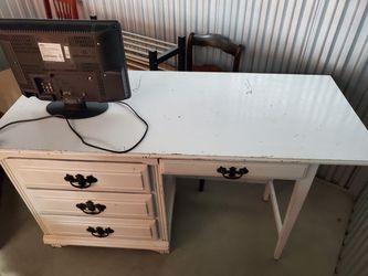 antique white desk for Sale in Severna Park,  MD