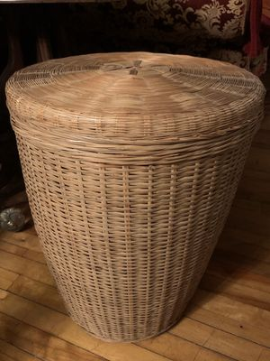 Woven Storage Basket for Sale in Shelburne, VT