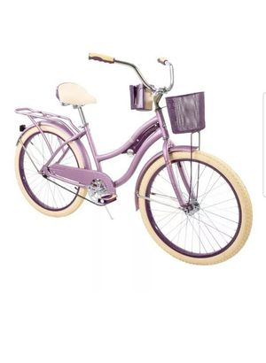 """HUFFY 24"""" NEL LUSSO CRUISER BIKE PURPLE WITH BASKET BRAND NEW IN BOX for Sale in Bedford, MA"""