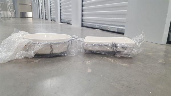 godinger porcelain bakers and rack