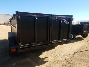 8X14X3 Ta Dump Trailer for Sale in Barstow, CA