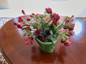 Beautiful artificial flowers with pot for Sale in Dublin, OH