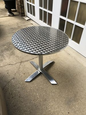 Bistro aluminum table for sale for Sale in Fort Washington, MD