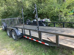 """Trailer with brakes. 6'10"""" x 18 + 2 (20Ft) for Sale in Nashville, TN"""