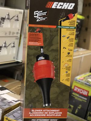 ECHO PAS 129 MPH 347 CFM Leaf Blower Attachment- NEW IN BOX for Sale in San Antonio, TX