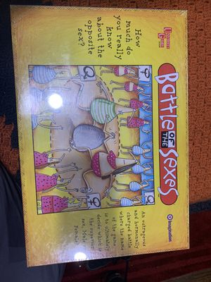 Battle of the Sexes Board Game for Sale in Fremont, CA