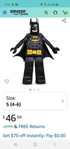 Batman Lego costume for Sale in Auburndale, FL