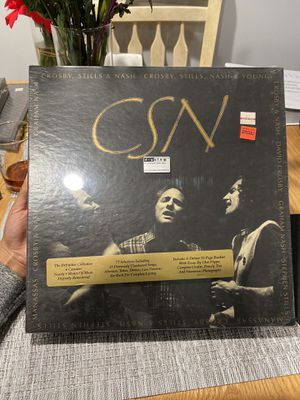 """CSN [Box Set] [Box] by Crosby, Stills & Nash (Cassette, Oct-1991, 4 Discs,.... Condition is """"Brand New"""". Shipped with USPS Media Mail. for Sale in Smithtown, NY"""