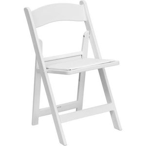 Set of 4 Resin Folding Chairs 1000 lb. Weight Capacity for Sale in Murphy, TX