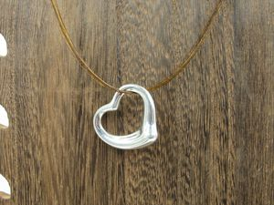 """17"""" Sterling Silver Tiffany & Co Elsa Peretti Heart Necklace Vintage Minimalist Everyday Beautiful Sexy Special Gift Idea Bohemian Cute for Sale in Bothell, WA"""