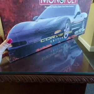 Corvette Monopoly...incomplete for Sale in Suffolk, VA