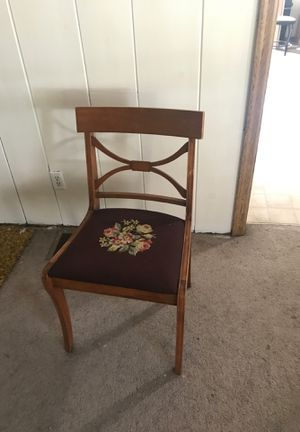 Hand stitched antique chair for Sale in Sherwood, OR