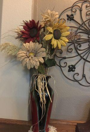 Vase and flowers for Sale in Schertz, TX