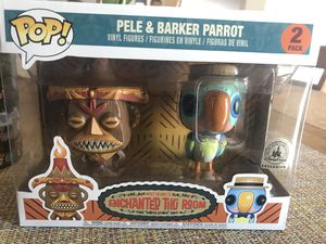 Disney exclusive - Pele And Barker Parrot figures for Sale in Pittsburgh, PA