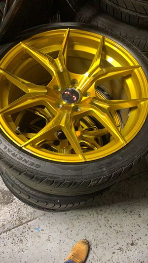 Rims tires R19 for Sale in The Bronx, NY