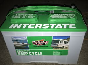 Brand new interstate battery deep cycle for Sale in Stockton, CA