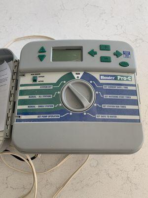 Hunter Pro C Sprinkler / Irrigation Controller for Sale in San Antonio, TX
