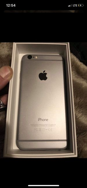 iPhone 6 cell phone 32GB unlocked, in box, never used charger and wall input for Sale in Toms River, NJ