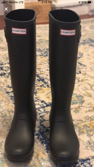 Woman Hunter Boots size 9 for Sale in Watertown, MA