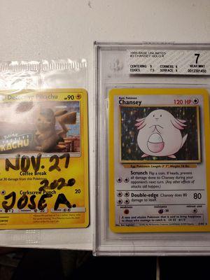 Pokemon base set Chansey bgs 7!! for Sale in Dallas, TX