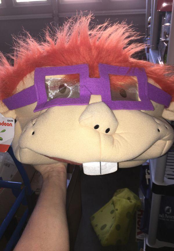 Rugrat chuckie oversized mask