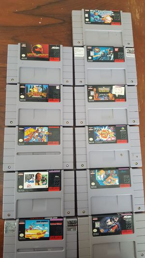 super nintendo games for Sale in Baltimore, MD