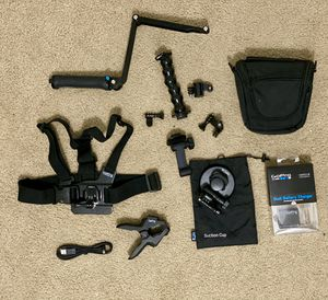 GoPro Accessories bundle $250+ value for Sale in Tampa, FL