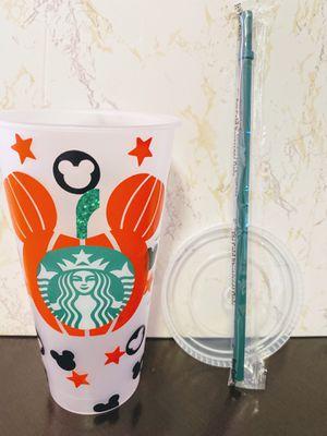 Pumpkin ears reusable Starbucks cup for Sale in Los Angeles, CA