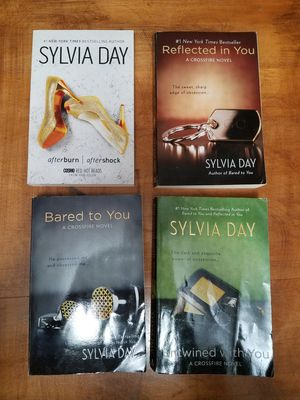 Sylvia Day Set of 4 Soft Back Books for Sale in Morgantown, WV