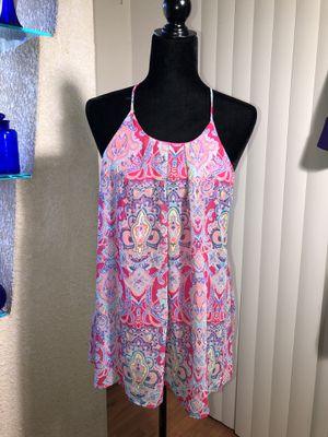LA KATE ... hot pink paisley print top for Sale in Sarasota, FL