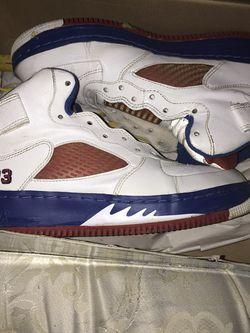 "Air Jordan Force 5""white Varsity Red for Sale in Riverdale,  GA"