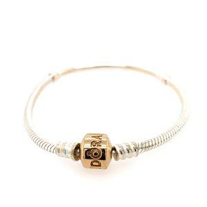 Pandora 14k gold clasp bracelet for Sale in Alexandria, VA