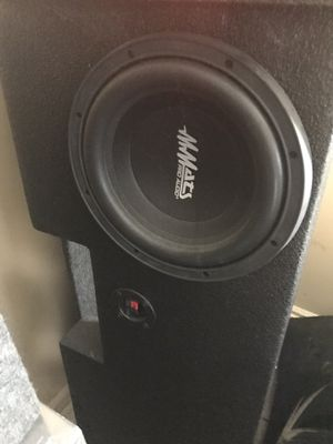 Pro audio 2 10s with Rhino box for Sale in Houston, TX