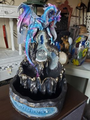 New dragon water table fountain brand new for Sale in Fontana, CA