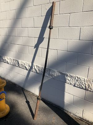 Cap Olympic Barbell 3 - piece for Sale in Lynnwood, WA